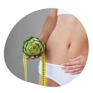 alcachofa para eliminar grasa