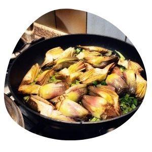 cómo preparar la alcachofa