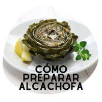 como preparar la alcachofa