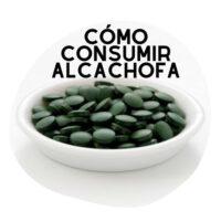 como consumir alcachofa