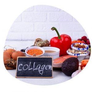 El colágeno en que alimentos se encuentra