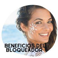 beneficios del bloqueador solar para la cara